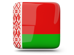 belarus glossy square icon 256